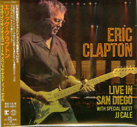 ERIC CLAPTON-LIVE IN SAN DIEGO WITH SPECIAL GUEST JJ CALE-JAPAN 2 CD G61