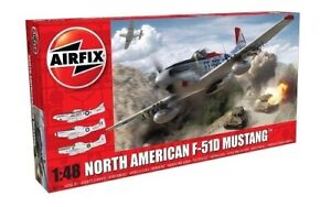 Airfix North American F51-D Mustang Model Kit