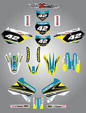 Suzuki DRZ 400 / 2000 - 2015 stickers STRIKE style Custom Graphic Kit / decals