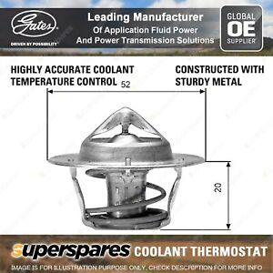 Gates Thermostat Kit for Suzuki Carry DA21T ST90 Escudo SE416 LJ80 LJ81 Sierra