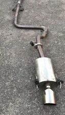 mg zr stainless exhaust System