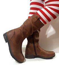 "New VADO Women""s LEATHER Boots Narrow Waterproof Tan Size 8,5 - 9 USA/40 EURO"