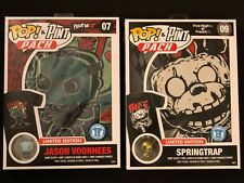 Lot POP & Pint Pack Shirt Fri 13th - UNPUNCHED Jason Voorhees 07 Springtrap 09 L