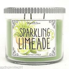 1 Bath & Body Works SPARKLING LIMEADE 3-Wick Scented 14.5 oz Large Candle