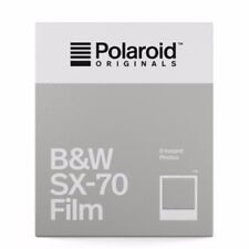 Twin Pack of Polaroid SX70 - B&W Instant Film - For Polaroid SX Type Cameras