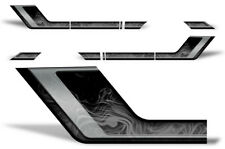 Ford F150 Rally Race Stripes Side Graphic Kit Truck Bed Decal Set 09-14 SMOKE