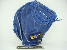 "New ZETT Gran Status 33"" Catcher Baseball / Softball Glove Blue RHT SALE GIFT"