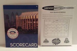 RARE* Philadelphia Phillies 1971-2003 Veterans Stadium Scorecard w/Newsy Notes!