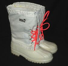 "Kamik snow master boots Women""s  Winter Size 7 M White color  Nylon / Rubber"