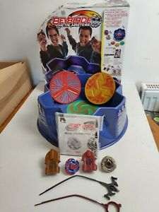 Beyblade Metal Masters Triple Battle Set Arena 2011 with 2 Exclusive Attack Tops