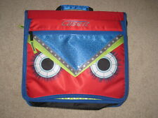 Nwt Case It Monsters The Flip Top 3 Ring Zipper Binder 2 Capacity Red M 276 Me