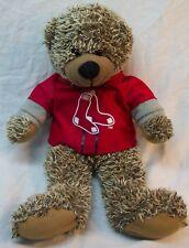 "BOSTON RED SOX TEDDY BEAR MLB BASEBALL 14"" Plush STUFFED ANIMAL Toy"