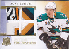 09-10 The Cup Logan Couture 4/10 Quad Patch Foundations 2009
