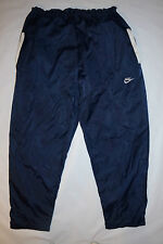 Nike Mens Athletic Sweat Pants No Size Dark Blue Pockets Drawstring Space Pants