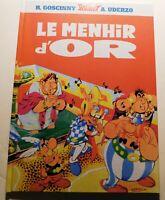 Astérix et le Menhir d'Or. Album cartonné 2019. D'après le livre-disque Philips.