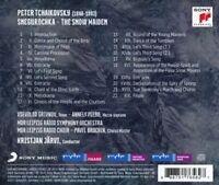 MDR SINFONIEORCHESTER/JÄRVI - SNEGUROCHKA-THE SNOW MAIDEN  CD NEU TSCHAIKOWSKY