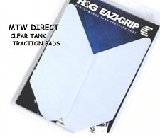 R&G RACING CLEAR TANK TRACTION PADS for BMW R1200RS (2015-2018)