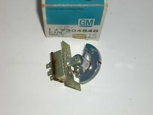 1968; BUICK RIVIERA, ELECTRA, WILDCAT, LESABRE-NOS HEATER BLOWER SWITCH #7304848