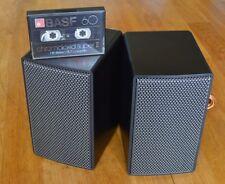2 x Grundig Hi-Fi Mini Box 50 - 70s VINTAGE HIFI-Audiorama RTV r35 45