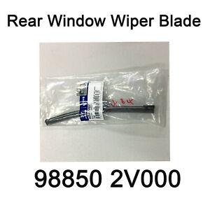 New Genuine OEM Rear Window Wiper Blade 98850 2V000 for Hyundai Veloster 12-17
