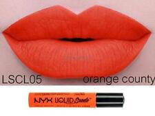 NYX Liquid Suede Cream Lipstick 'ORANGE COUNTY' LSCL05 New Sealed Authentic