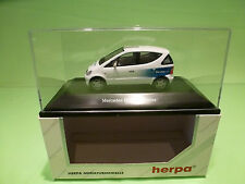 HERPA  1:43 MERCEDES BENZ A SERVICE   - GOOD CONDITION IN BOX  - DEALER EDITION.