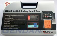 Foxwell NT630 ABS & Airbag Reset Tool - OBD-II Airbag & ABS 50+ makes *EX-DEMO*