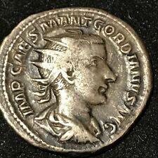 ROMAN COIN 238-244 SILVER GORDIAN III   LIBERALITAS STANDING  ANTONINIANUS u82a