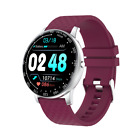 Multi-function free replacement screensaver sports smart watch,purple