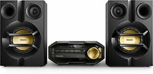 FX10 Philips Mini Bluetooth Stereo System USB with CD Player MP3 USB with Remote