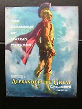Alexander The Great (Richard Burton) Original film flyer 50s