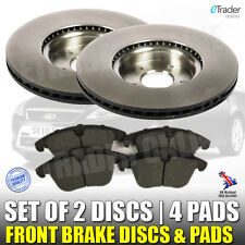 FORD MONDEO MK4 FRONT BRAKE DISCS AND & PADS 2007-2015 TDCi PREMIUM QUALITY NEW