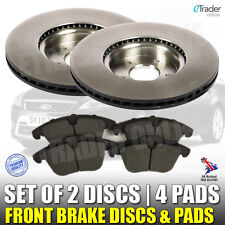 For FORD MONDEO MK4 FRONT BRAKE DISCS AND & PADS 2007-2015 TDCi PREMIUM QUALITY