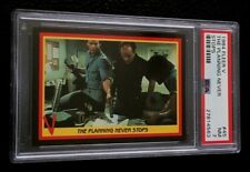 1984 Fleer V The Series PSA 7 #45 Planning Enemy Visitors 80s NBC TV Show Alien