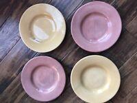 Pottery Barn Sausalito Ceramic 4 Salad/Dessert Plates