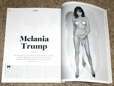MELANIA KNAUSS TRUMP in PLAYBOY from Netherlands NL (6 page layout) FLOTUS