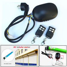 Roller Shutter Garage Shop Door Tubular Motor Remote Control + 2 wireless Fobs