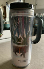 Starbucks Travel Mug Christmas Winter Wonderland 12 ounces 2008