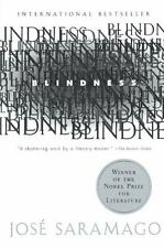 Blindness by José Saramago a paperback book FREE SHIPPING jose Nobel winner!!