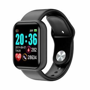 Bluetooth Smart Watch Waterproof Sports Smartwatch Heart Rate Monitor Blood Pres
