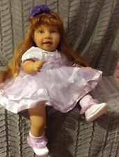 "PAT SECRIST/Apple ValleyJILLY BEAN1997 Doll 22"" STRAWBERRY BLONDE Hair 24"""