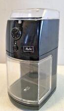 New Melitta Burr Coffee Grinder Mill MEM1B Fine To Coarse/ 1 To 12 Cups
