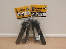2 X PAIRS OF DEWALT DSCARRIER TOUGH SYSTEM TROLLEY BRACKETS 1 70 362