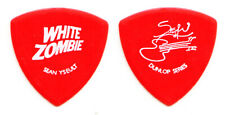 Rob Zombie White Zombie Sean Yseult Signature Red Bass Guitar Pick - 1997 Tour