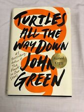 Turtles All the Way Down by John Green (2017, Hardcover Autographed) Hand Signed