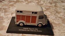 miniature ELIGOR ; Citroën Type H ; 1958 ; VAN a chevaux ; HEULIEZ ;   1/43 ....