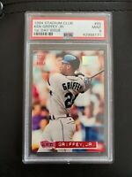 1994 Stadium Club 1st Day Issue #85 Ken Griffey Jr. Graded PSA 9 MINT