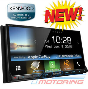 NEW KENWOOD DMX7704S APPLE CAR PLAY / ANDROID AUTO /  BLUETOOTH /  SPOTIFY