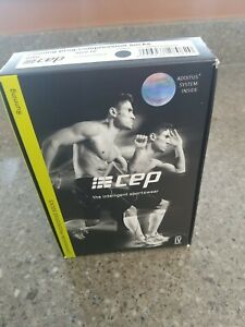 CEP Recovery Pro Compression Socks - Black, Men's, Size 4 (IV) New in box