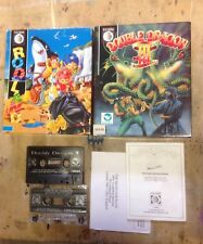 Rodland + Double Dragon 3 Bondle Commodore 64 / 128 Cassette Vintage